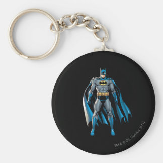 Batman Stands Up Key Ring