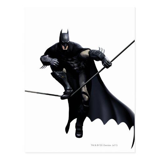 Batman Stepping On Line Postcards