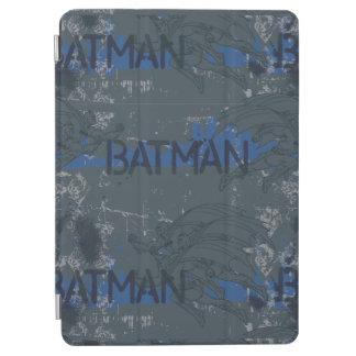 Batman Street Heroes - 3 - Blue/Grey Pattern iPad Air Cover