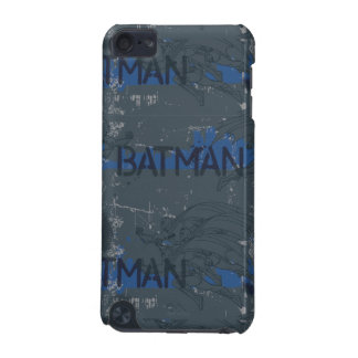 Batman Street Heroes - 3 - Blue/Grey Pattern iPod Touch (5th Generation) Case