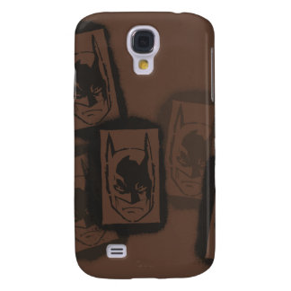Batman Street Heroes - 4 - Batman Brown Stamps Galaxy S4 Case