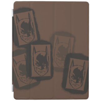 Batman Street Heroes - 4 - Batman Brown Stamps iPad Cover