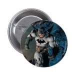 Batman Stride 6 Cm Round Badge