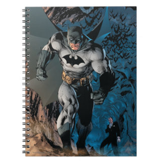 Batman Stride Spiral Notebook
