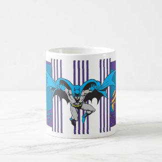 Batman Stripes Coffee Mug