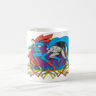 Batman + Superman + Flash Coffee Mug