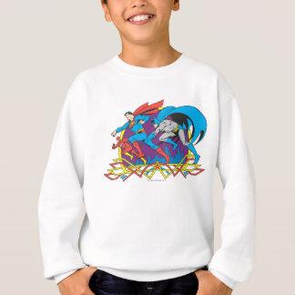Batman + Superman + Flash Sweatshirt
