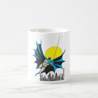 Batman Swings Basic White Mug
