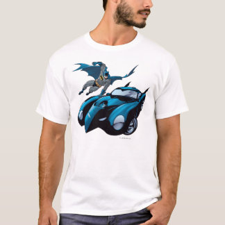Batman swings over T-Shirt