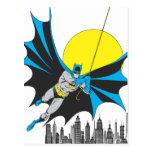 Batman Swings Postcards