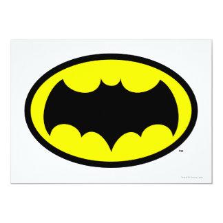 Batman Symbol 13 Cm X 18 Cm Invitation Card