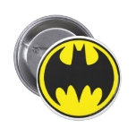 Batman Symbol | Bat Circle Logo 6 Cm Round Badge