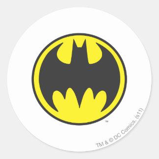 Batman Symbol | Bat Circle Logo Round Sticker
