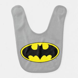 Batman Symbol | Bat Oval Logo Bib