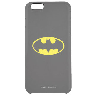 Batman Symbol | Bat Oval Logo Clear iPhone 6 Plus Case
