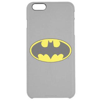 Batman Symbol | Bat Oval Logo Clear iPhone 6 Plus Case