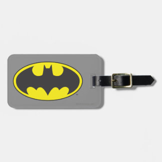 Batman Symbol | Bat Oval Logo Luggage Tag