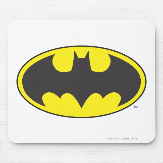 Batman Symbol | Bat Oval Logo Mouse Pad