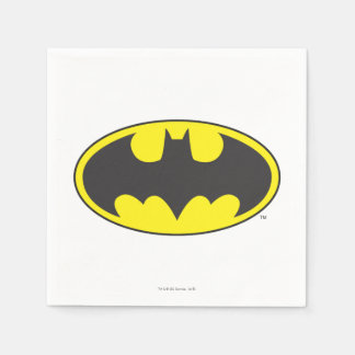 Batman Symbol | Bat Oval Logo Paper Serviettes