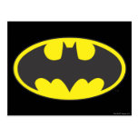 Batman Symbol | Bat Oval Logo Postcard