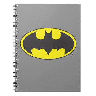 Batman Symbol   Bat Oval Logo Spiral Note Books