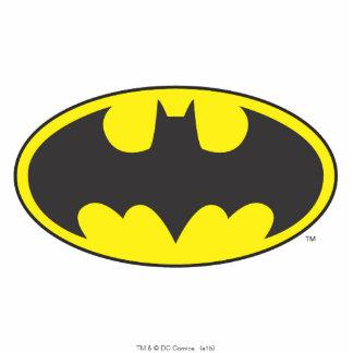 Batman Symbol   Bat Oval Logo Standing Photo Sculpture