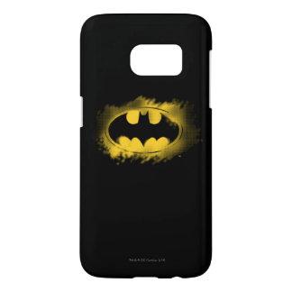 Batman Symbol   Black and Yellow Logo