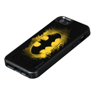 Batman Symbol | Black and Yellow Logo 2 OtterBox iPhone 5/5s/SE Case