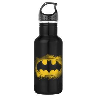 Batman Symbol | Black and Yellow Logo 532 Ml Water Bottle