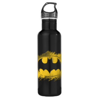 Batman Symbol | Black and Yellow Logo 710 Ml Water Bottle