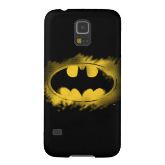 Batman Symbol | Black and Yellow Logo Case For Galaxy S5