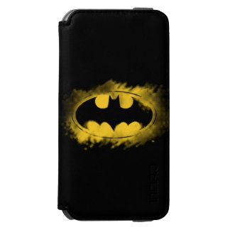 Batman Symbol | Black and Yellow Logo Incipio Watson™ iPhone 6 Wallet Case