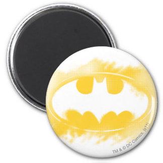 Batman Symbol | Black and Yellow Logo Magnet