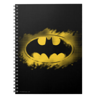 Batman Symbol | Black and Yellow Logo Notebook