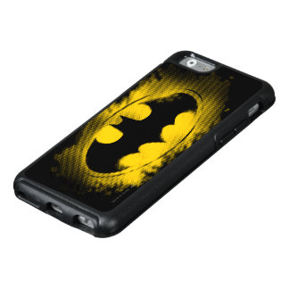 Batman Symbol | Black and Yellow Logo OtterBox iPhone 6/6s Case