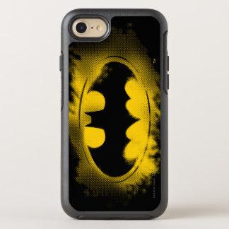 Batman Symbol | Black and Yellow Logo OtterBox Symmetry iPhone 7 Case