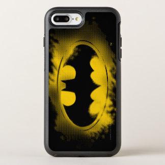 Batman Symbol | Black and Yellow Logo OtterBox Symmetry iPhone 7 Plus Case
