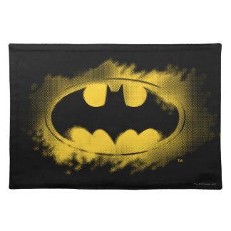 Batman Symbol | Black and Yellow Logo Placemat