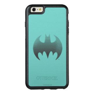 Batman Symbol   Black White Fade Logo OtterBox iPhone 6/6s Plus Case