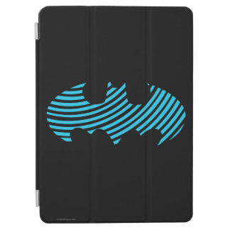 Batman Symbol   Blue Striped Logo iPad Air Cover