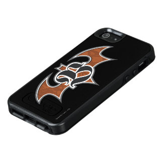 Batman Symbol | Brown Logo OtterBox iPhone 5/5s/SE Case