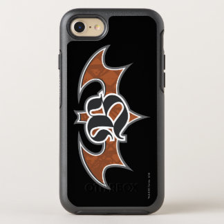 Batman Symbol | Brown Logo OtterBox Symmetry iPhone 8/7 Case