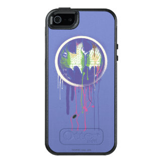 Batman Symbol | Circle Purple Logo 2 OtterBox iPhone 5/5s/SE Case