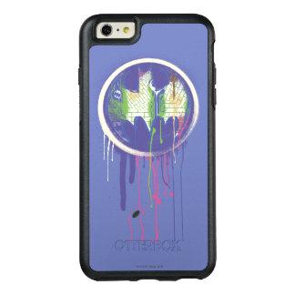 Batman Symbol   Circle Purple Logo 2 OtterBox iPhone 6/6s Plus Case