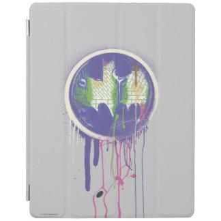 Batman Symbol | Circle Purple Logo iPad Cover