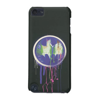 Batman Symbol | Circle Purple Logo iPod Touch (5th Generation) Cover