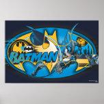 Batman Symbol | Classic Collage Logo Poster