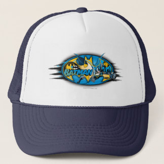 Batman Symbol   Classic Collage Logo Trucker Hat