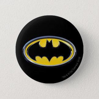 Batman Symbol   Classic Logo 6 Cm Round Badge