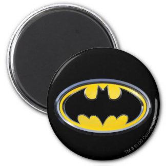 Batman Symbol | Classic Logo 6 Cm Round Magnet